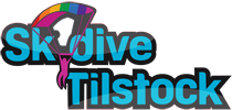 Skydive Tilstock Logo